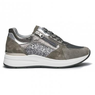 Sneakers Velour Violey con inserti glitter 120
