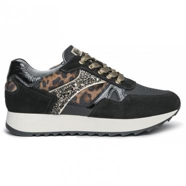 Sneakers Sebring con inserti animalier 100