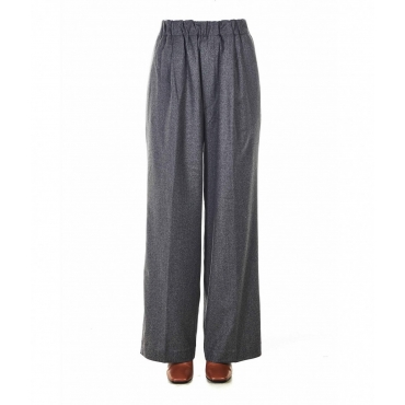 Pantaloni Palazzo Jill grigio