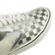 SCARPA BASSA COMFYCUSH SLIP-SKOOL CHECKERBOARD BLACK/WHITE