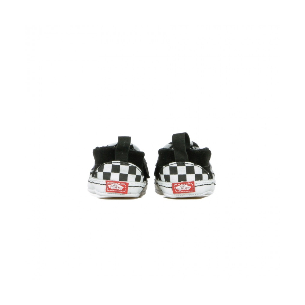 SCARPA BASSA SLIP-ON V CRIB CHECKER BLACK/TRUE WHITE