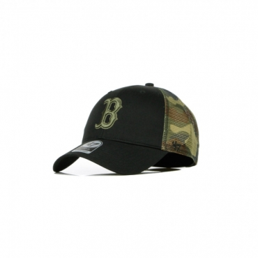 CAPPELLINO VISIERA CURVA MLB BACK SWITCH MVP TRUCKER BOSRED BLACK/CAMO