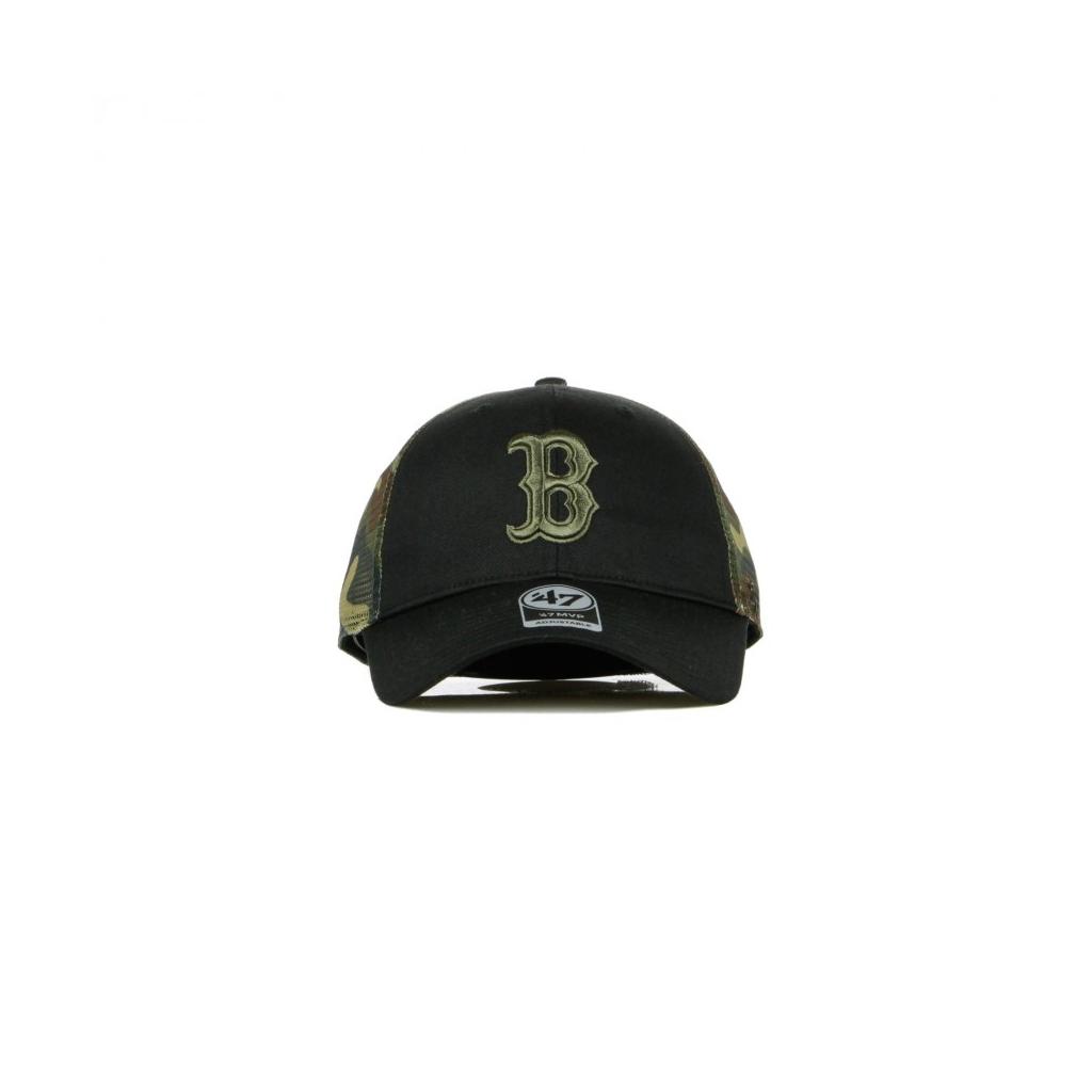 CAPPELLINO VISIERA CURVA MLB BACK SWITCH MVP TRUCKER BOSRED BLACK/CAMO