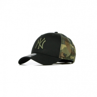CAPPELLINO VISIERA CURVA MLB BACK SWITCH MVP TRUCKER NEYYAN BLACK/CAMO