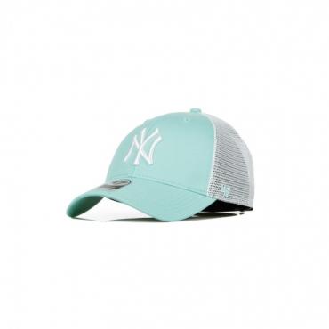 CAPPELLINO VISIERA CURVA MLB FLAGSHIP MVP TRUCKER NEYYAN TIFFANY BLUE/WHITE