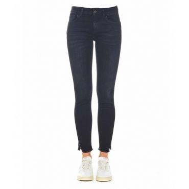 Jean Sweet regular waist nero