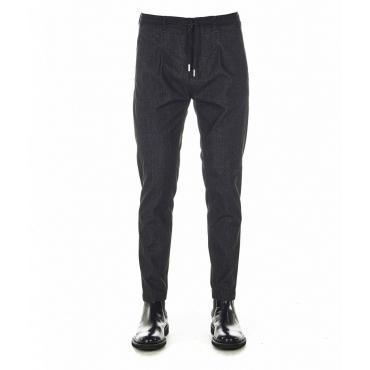 Pantaloni S Mitte nero