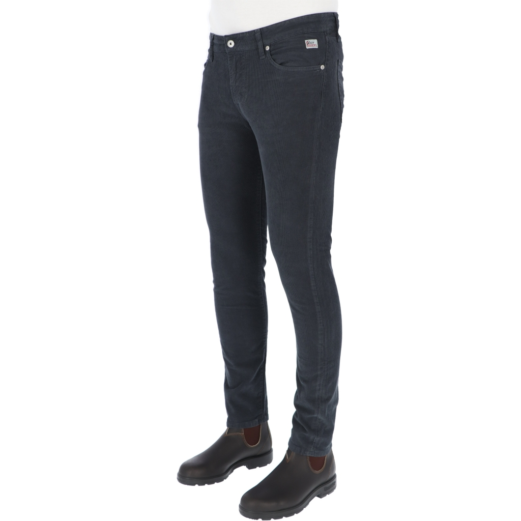 PANT 517 PLAIN VELL1500 ROY ROGERS ANTRACITE