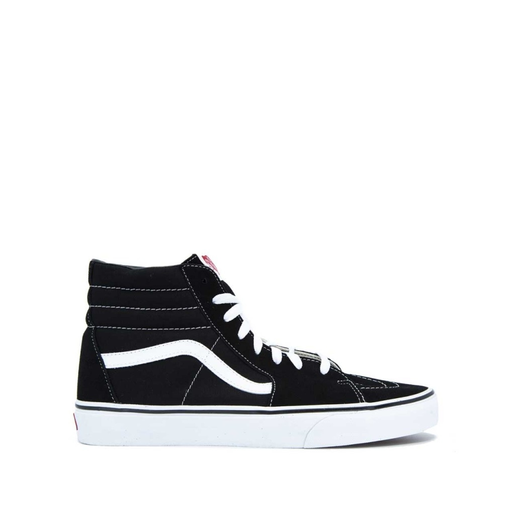vans nere e bianche scarpe