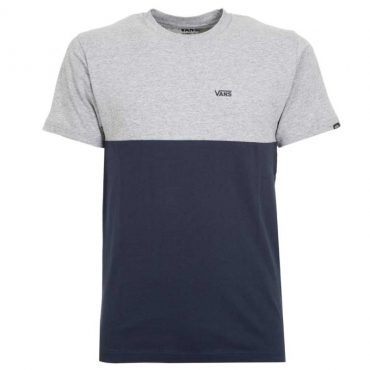 T-shirt Colorblock in cotone ZZG1DRESSBLU