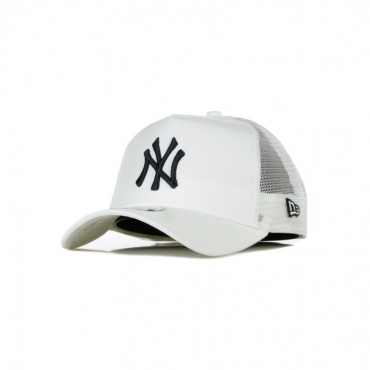 CAPPELLINO VISIERA CURVA MLB LEAGUE ESSENTIAL A-FRAME TRUCKER NEYYAN WHITE/BLACK