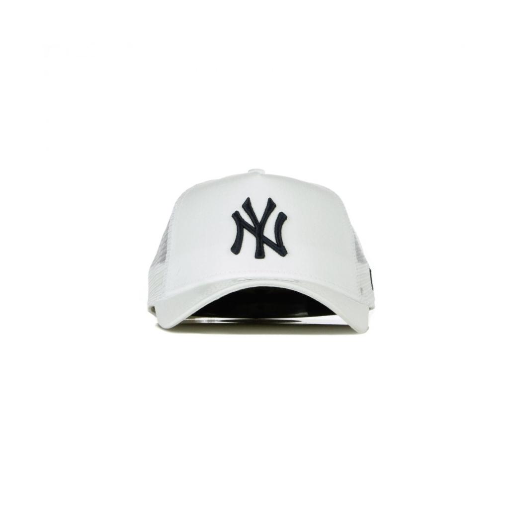 CAPPELLINO VISIERA CURVA MLB LEAGUE ESSENTIAL A-FRAME TRUCKER NEYYAN WHITE/BLACK