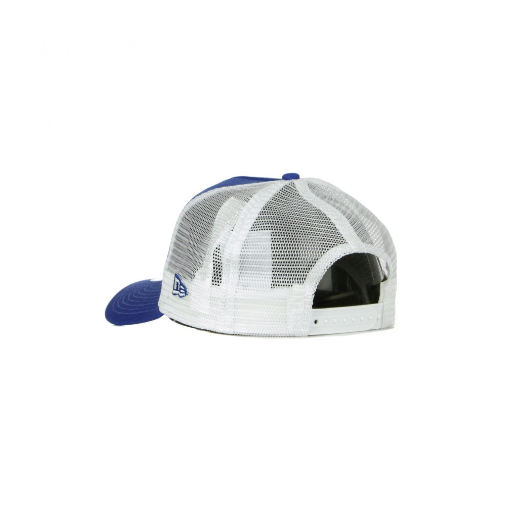 CAPPELLINO VISIERA CURVA MLB LEAGUE ESSENTIAL A-FRAME TRUCKER NEYYAN LIGHT ROYAL/STONE