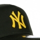 CAPPELLINO VISIERA CURVA MLB LEAGUE ESSENTIAL A-FRAME TRUCKER NEYYAN BLACK/AUTHENTIC GOLD