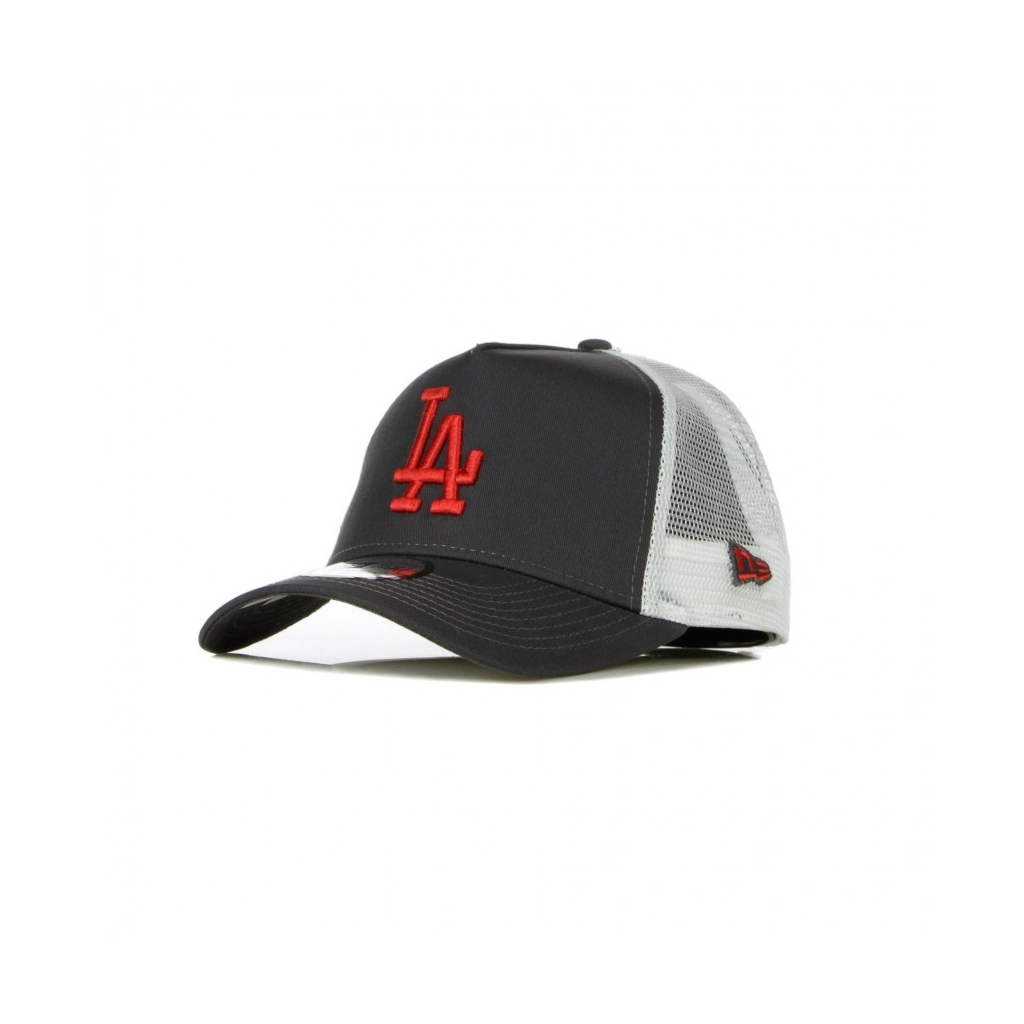 CAPPELLINO VISIERA CURVA MLB LEAGUE ESSENTIAL A-FRAME TRUCKER LOSDOD GRAPHITE/RED