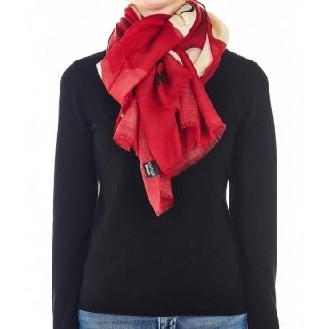 Sciarpa leggera rosso