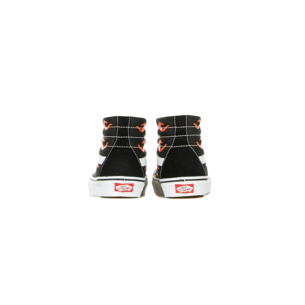 SCARPA ALTA SK8-HI REISSUE FLAME BLACK/BLACK/TRUE WHITE