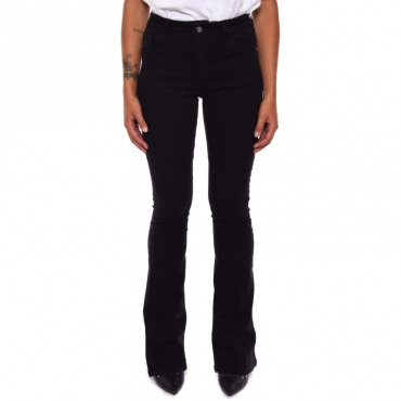 Jeans flaire bull BLACK