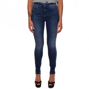 Jeans skinny bull BLUE DARK
