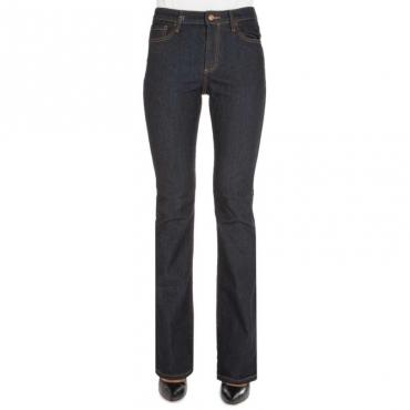 Jeans scuro a zampa J65 1500