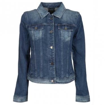 Giubbino in jeans scolorito 1500