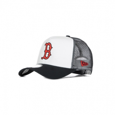 CAPPELLINO VISIERA CURVA MLB TEAM COLOUR BLOCK TRUCKER BOSRED WHITE/ORIGINAL TEAM COLORS