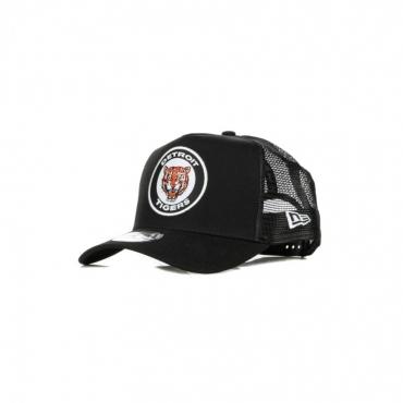 CAPPELLINO VISIERA CURVA MLB COOPSTOWN HERITAGE A-FRAME TRUCKER DETTIG BLACK/ORIGINAL TEAM COLORS