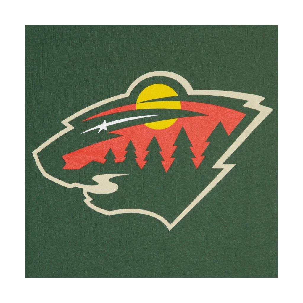 MAGLIETTA NHL ICONIC PRIMARY COLOUR LOGO GRAPHIC T-SHIRT MINWIL ORIGINAL TEAM COLORS