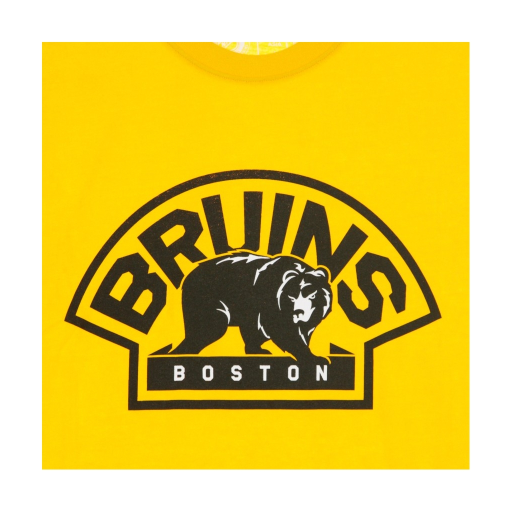MAGLIETTA NHL ICONIC SECONDARY COLOUR LOGO GRAPHIC T-SHIRT BOSBRU ORIGINAL TEAM COLORS