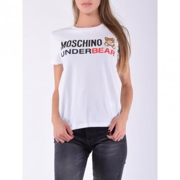 T-shirt underbear BIANCO