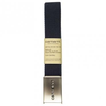 Cintura in tessuto con logo DARKNAVY