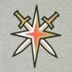 MAGLIETTA NHL ICONIC SECONDARY COLOUR LOGO GRAPHIC T-SHIRT VEGKNI ORIGINAL TEAM COLORS