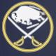 MAGLIETTA NHL ICONIC PRIMARY COLOUR LOGO GRAPHIC T-SHIRT BUFSAB ORIGINAL TEAM COLORS