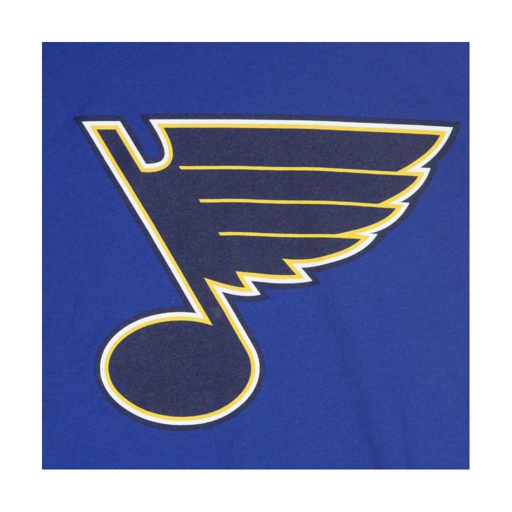 MAGLIETTA NHL ICONIC PRIMARY COLOUR LOGO GRAPHIC T-SHIRT STLBLU ORIGINAL TEAM COLORS