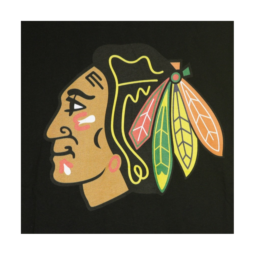 MAGLIETTA NHL ICONIC PRIMARY COLOUR LOGO GRAPHIC T-SHIRT CHIBLA ORIGINAL TEAM COLORS