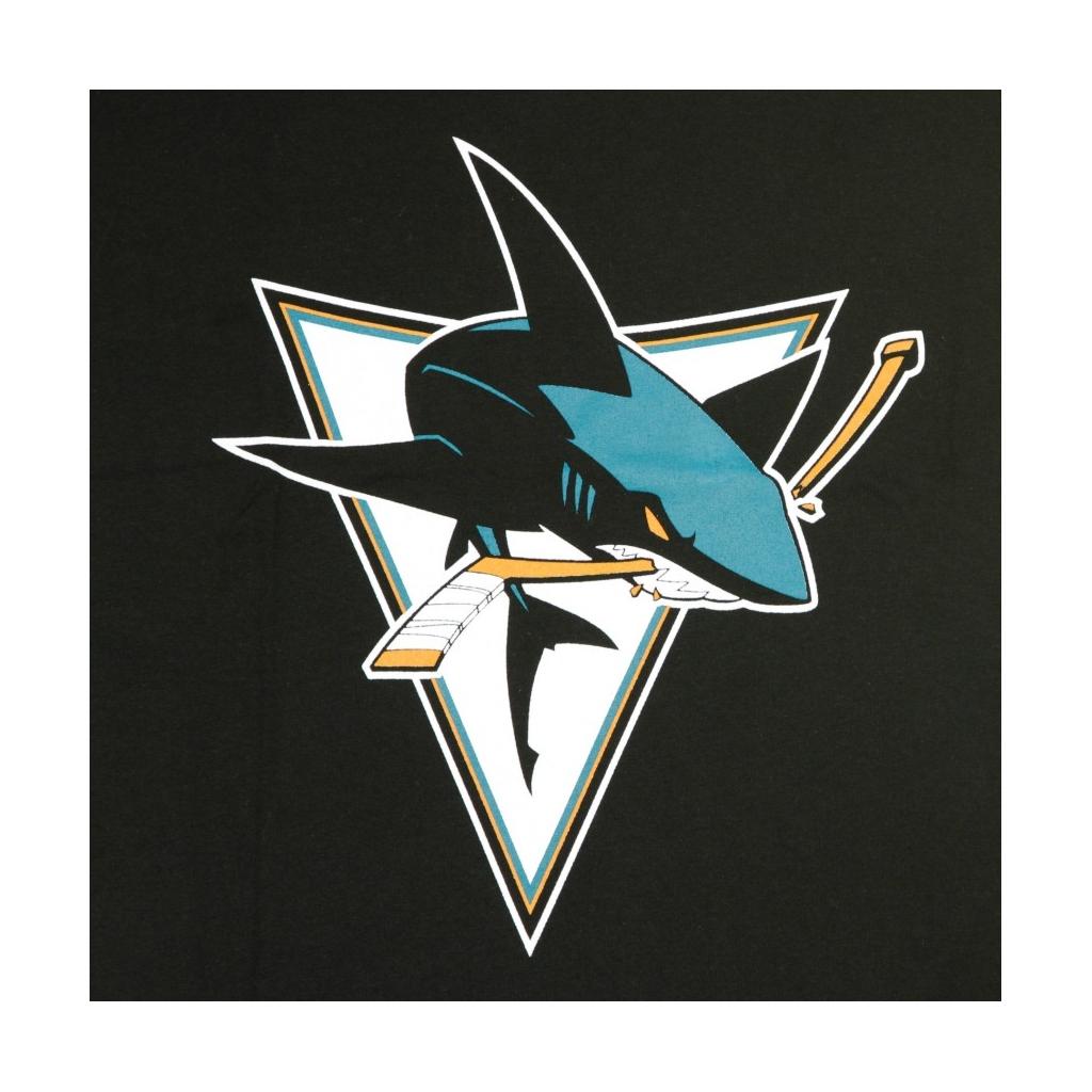 MAGLIETTA NHL ICONIC SECONDARY COLOUR LOGO GRAPHIC T-SHIRT SAJSHA ORIGINAL TEAM COLORS