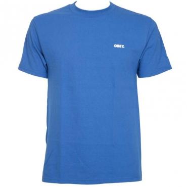 T-Shirt Bold con doppio logo 287ROYALBLUE