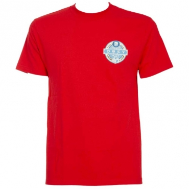 T-Shirt Purveyors of Dissent rossa 2600RED