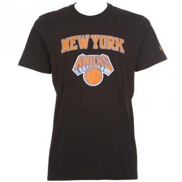 T-shirt nera New York Knicks BLK
