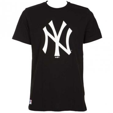 T-shirt nera New York Yankees BLK