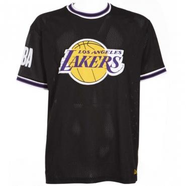 T-shirt oversize Los Angeles Lakers Applique BLK
