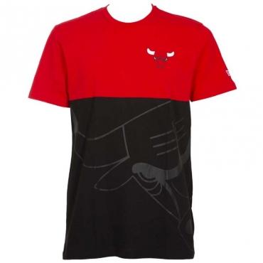 T-shirt colorblock Chicago Bulls FDRBLK