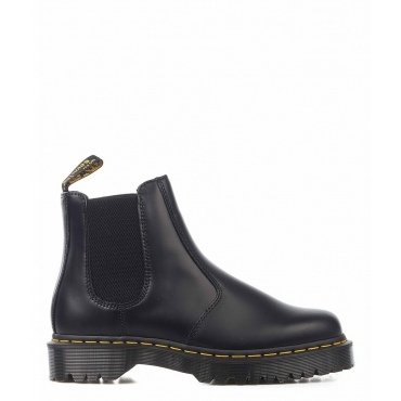 Ankle boot Smooth nero