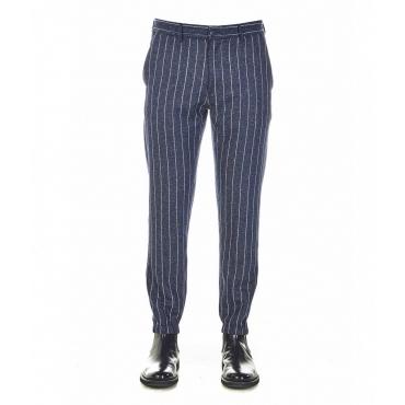 Pantaloni Daniel blu