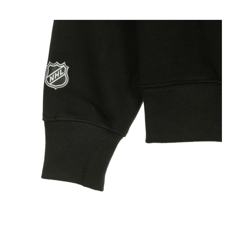 FELPA GIROCOLLO NHL ICONIC PRIMARY COLOUR LOGO GRAPHIC CREW SWEATSHIRT BLACK
