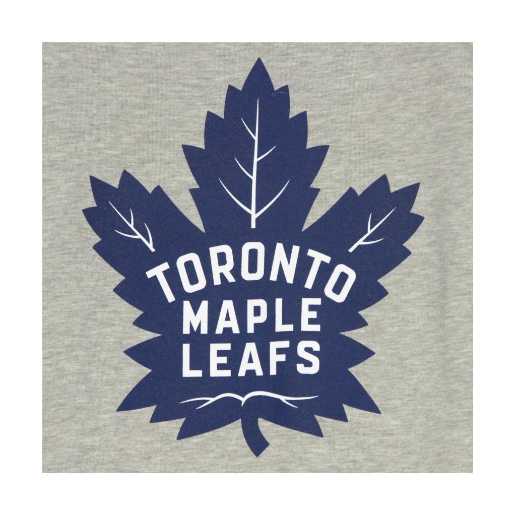 FELPA GIROCOLLO NHL ICONIC PRIMARY COLOUR LOGO GRAPHIC CREW SWEATSHIRT TORMAP HEATHER GREY/ORIGINAL TEAM COLORS