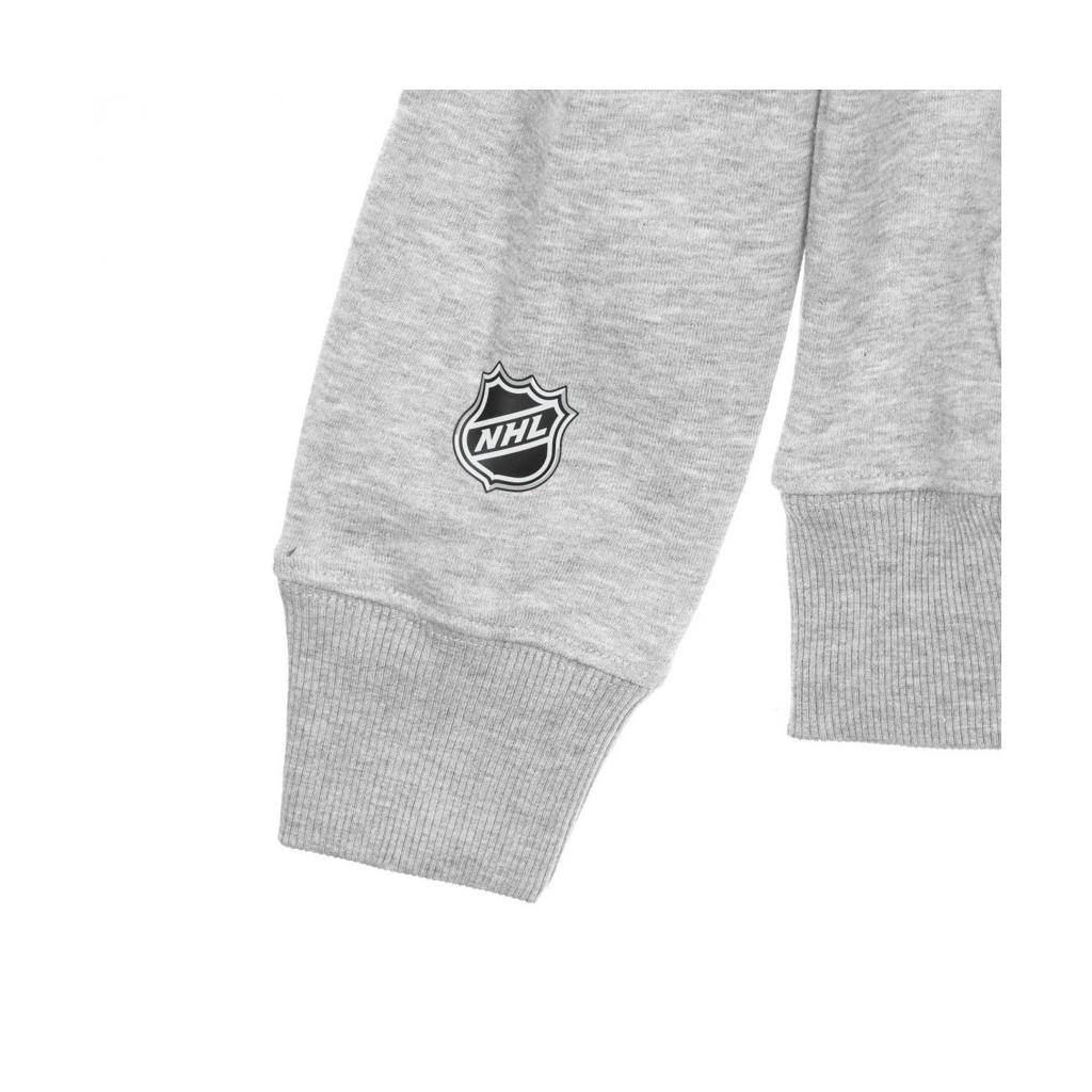 FELPA CAPPUCCIO NHL ICONIC SECONDARY COLOUR LOGO GRAPHIC HOODIE BOSBRU ORIGINAL TEAM COLORS