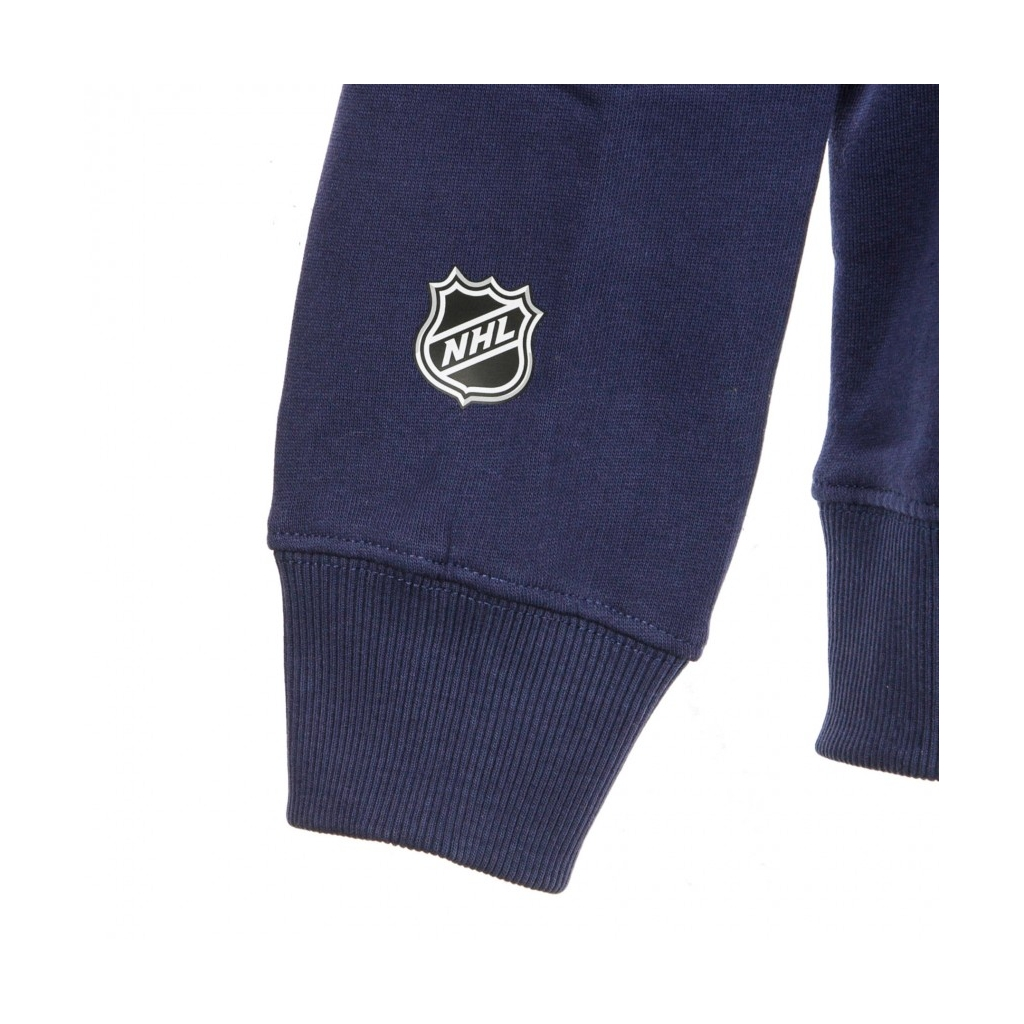 FELPA CAPPUCCIO NHL ICONIC PRIMARY COLOUR LOGO GRAPHIC HOODIE WINJET ORIGINAL TEAM COLORS