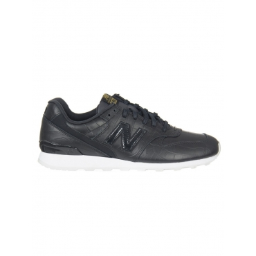 Scarpa Donna New Balance 996 Crb Leather Lifestyle CRB BLACK
