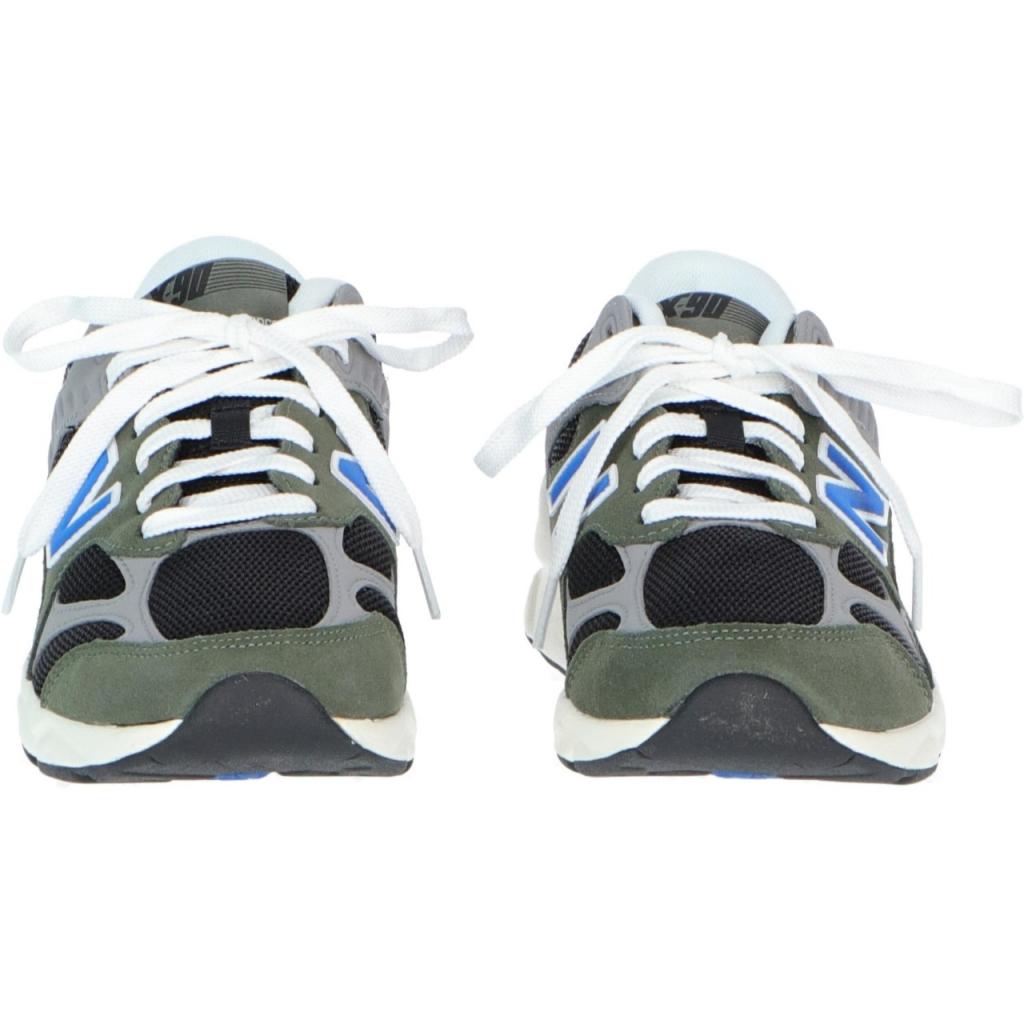 Scarpe New Balance Uomo X90 Tth Suede Textile Lifesty TTH GREENBLACK